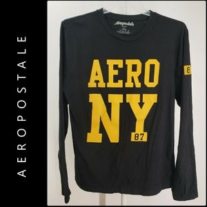 Aeropostale Men Spell Out Pull Over Sweater Size L